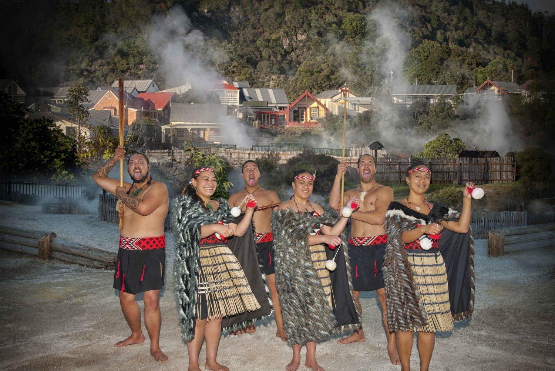 Whakarewarewa Maori Village Day Cultural Experience