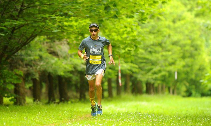 2017 Podium Rotorua Half Marathon