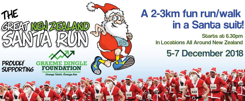 2018 Great NZ Santa Run