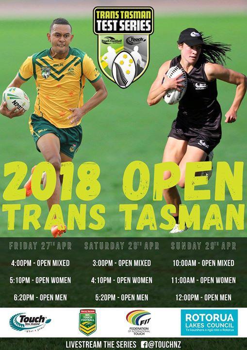 2018 Open Trans-Tasman Series