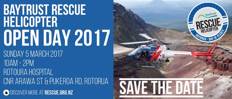 BayTrust Rescue Helicopter Open Day