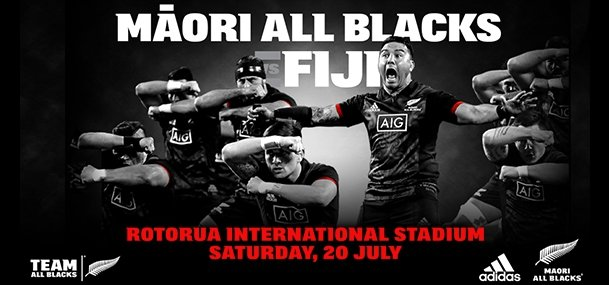 Maori All Blacks V Fiji