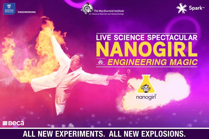 Nanogirl Live in Engineering Magic - 2 SHOWS