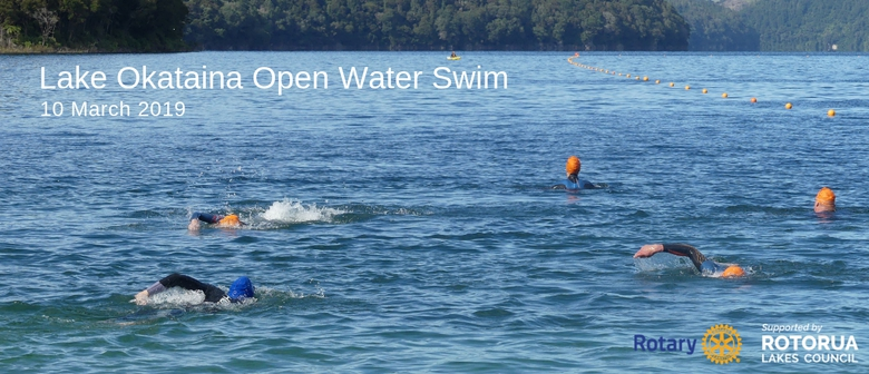 Rotary Rotorua Lake Okataina Open Water Swim