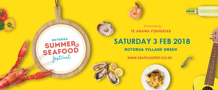 Rotorua Summer Seafood Festival 2018