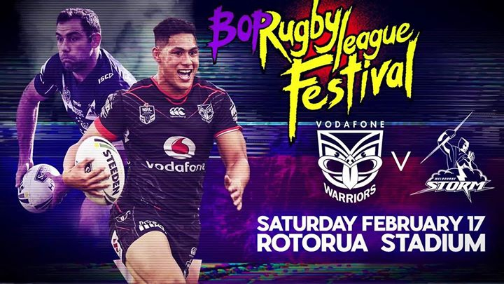 Vodafone Warriors v Melbourne Storm