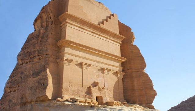 Sightseeing at Mada'in Saleh