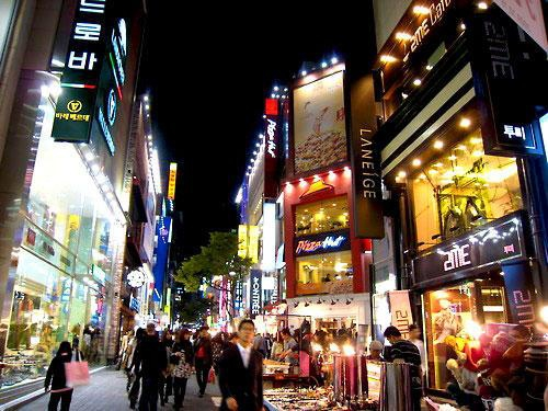 Myeongdong In Seoul My Guide Seoul