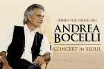 Andrea Bocelli Concert in Seoul