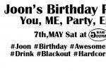 Joon's Birthday Party!