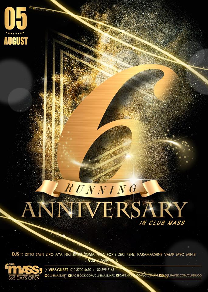 6th Running Anniversary