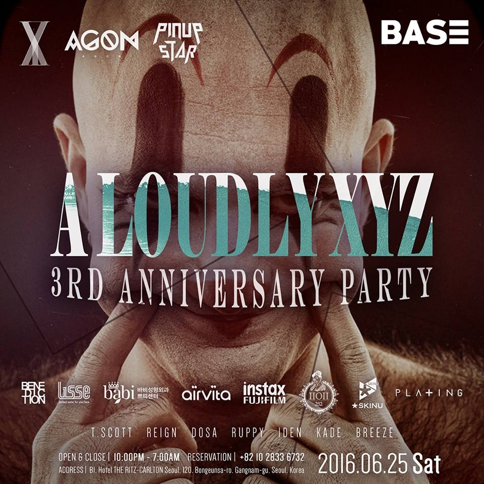 A Loudly XYZ 3rd Anniversary Party @ PARTY CLUB BASE