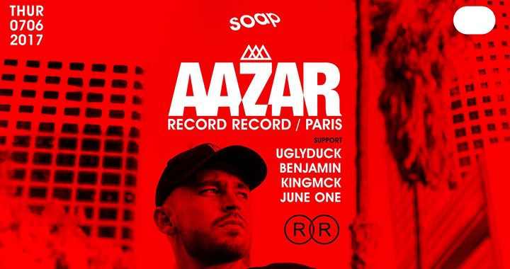 AAZAR AT SOAP (Record Record / Paris)