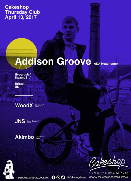 Addison Groove ( Tempa/50 Weapons/ Bristol) at Cakeshop