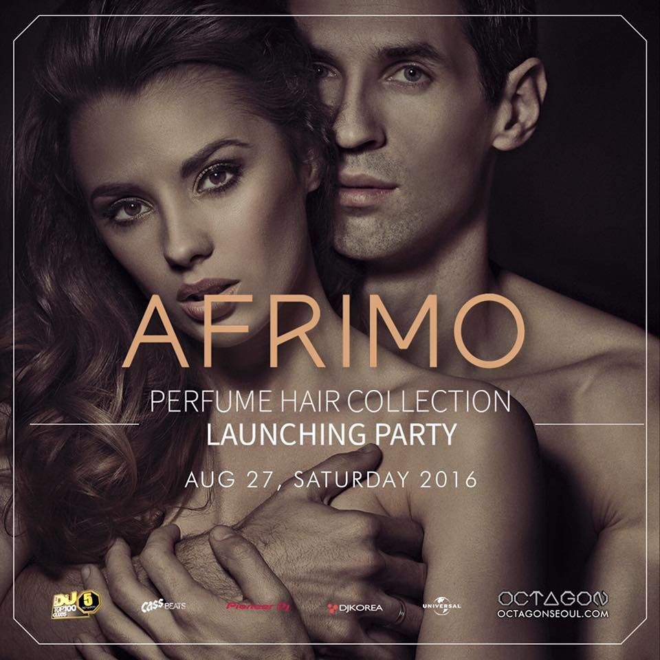 AFRIMO perfume hair collection Launching Party