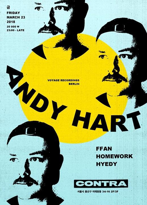 Andy Hart [Voyage / Berlin] at Contra