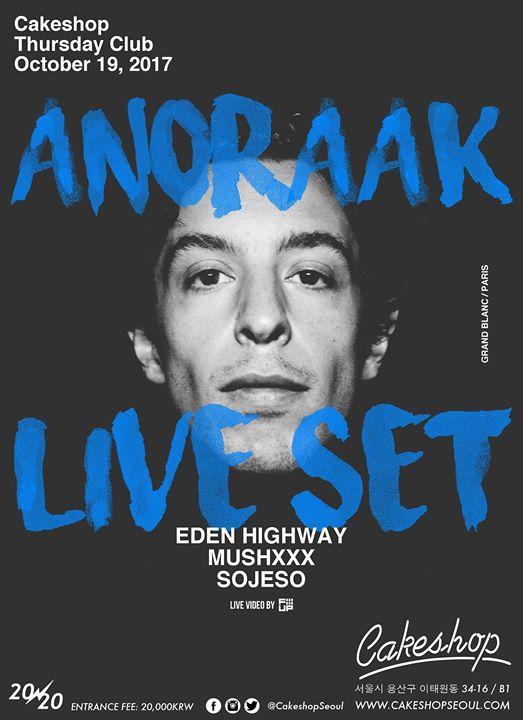 Anoraak live set (Grand Blanc/Paris) at Cakeshop
