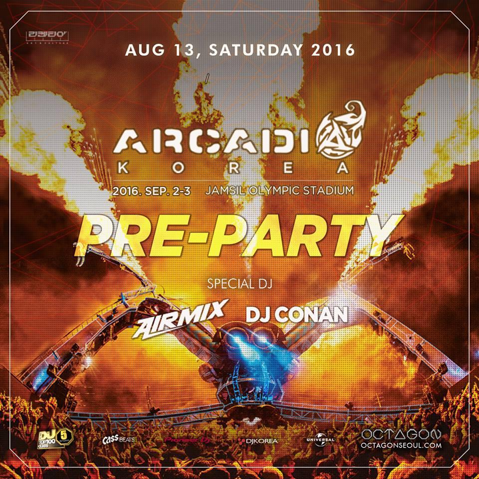 Arcadia Pre - Party