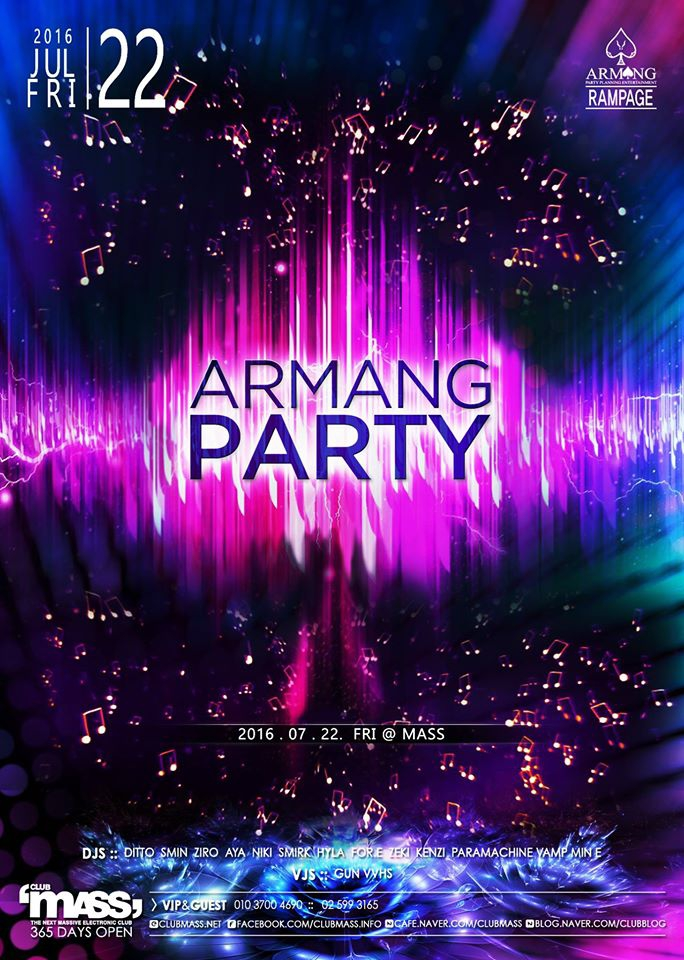 ARMANG PARTY TEAM