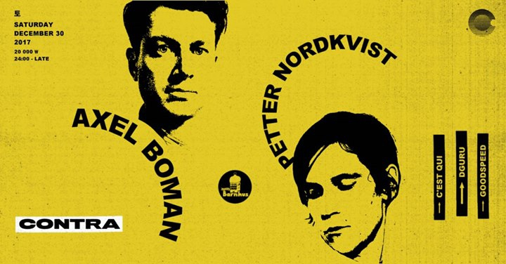 Axel Boman + Petter Nordkvist [Studio Barnhus/Sweden] at Contra