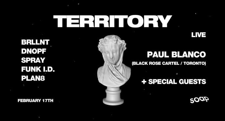 B R L L N T Presents: Territory #4