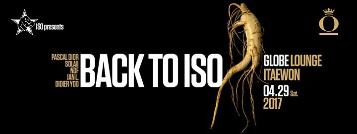 Back To ISO - House & Techno Party
