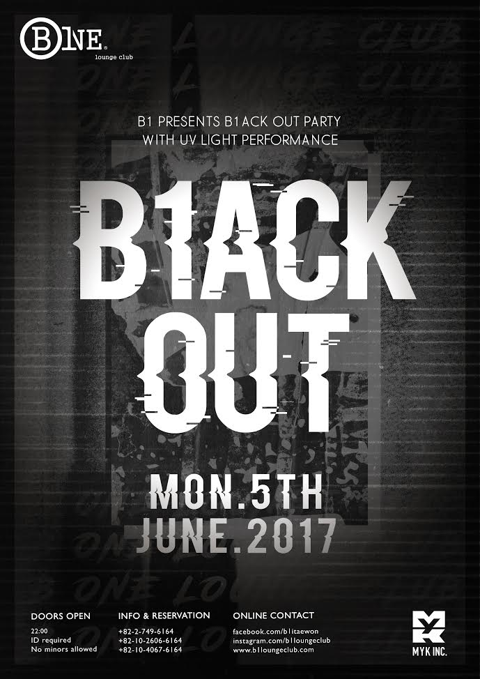 BLACK OUT Monday Night Party