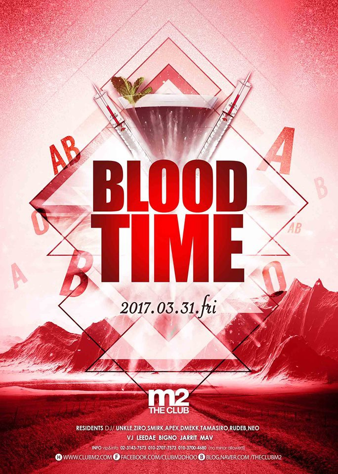 Blood Time at Club M2