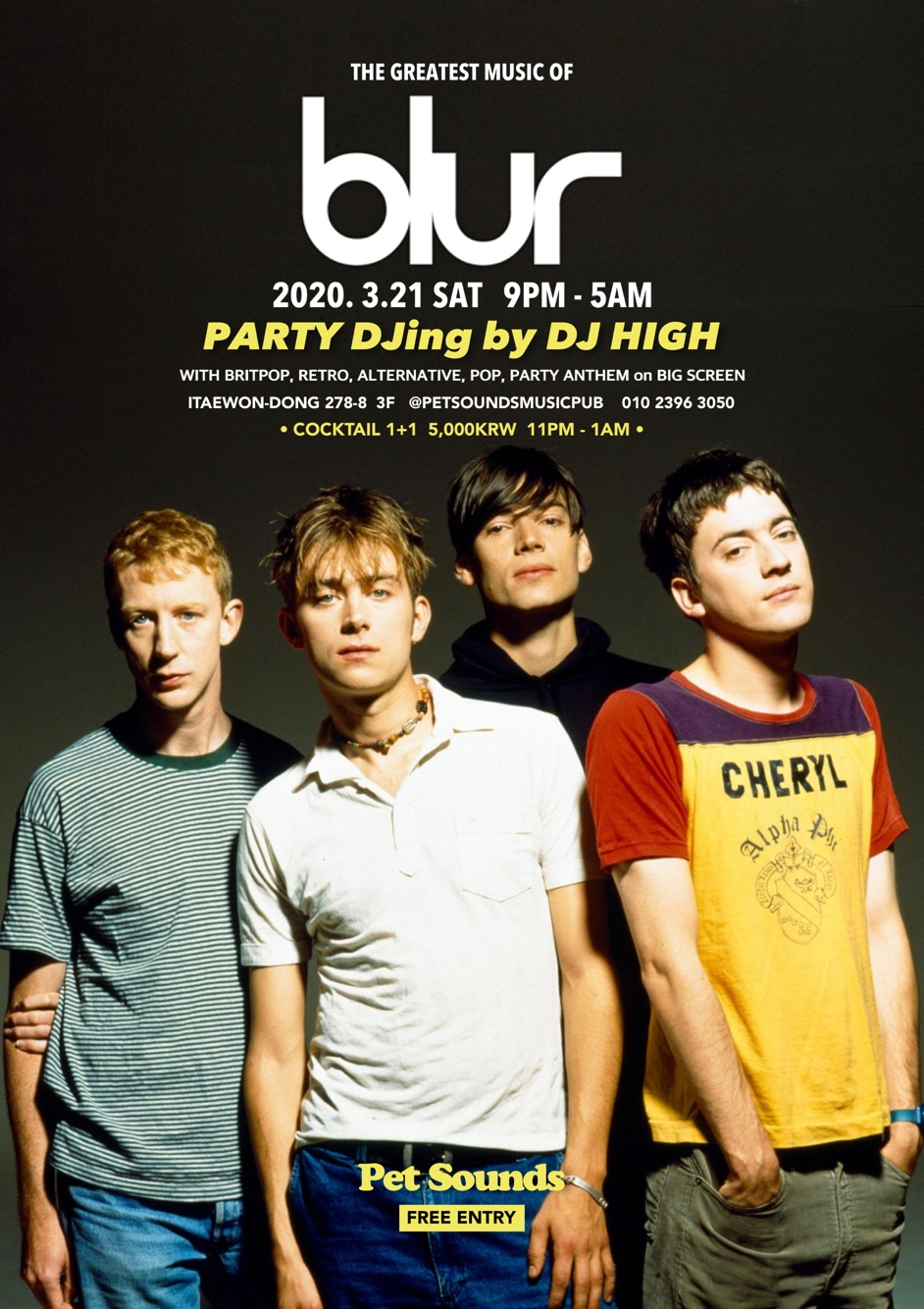 Blur: Greatest hits party