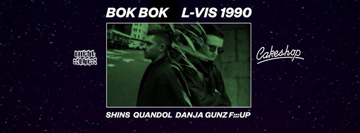 Bok Bok & L-Vis 1990 (Night Slugs/London) at Cakeshop