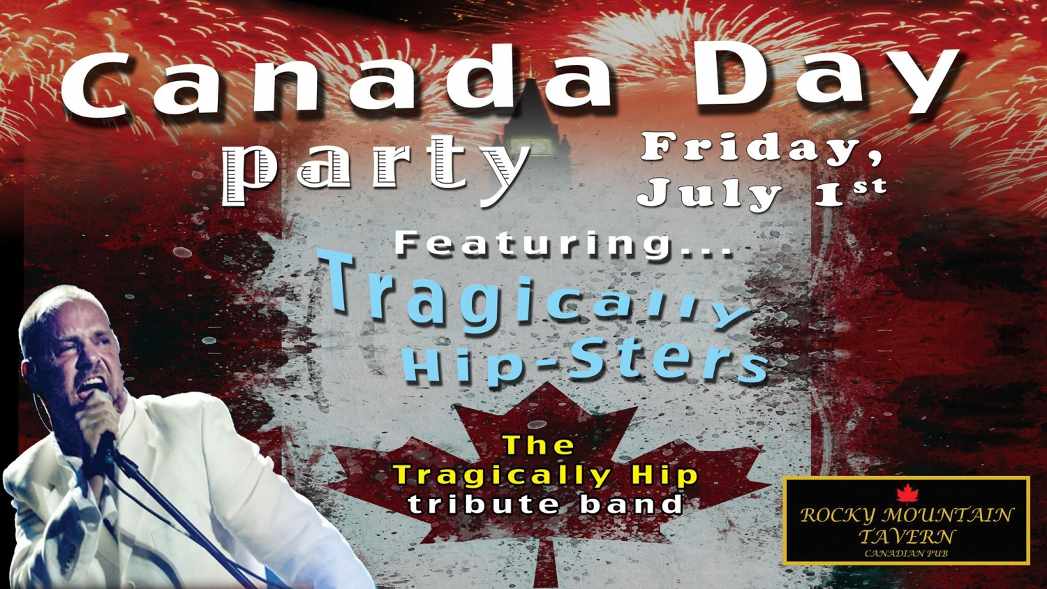 Canada Day Party at Rocky Mountain Tavern