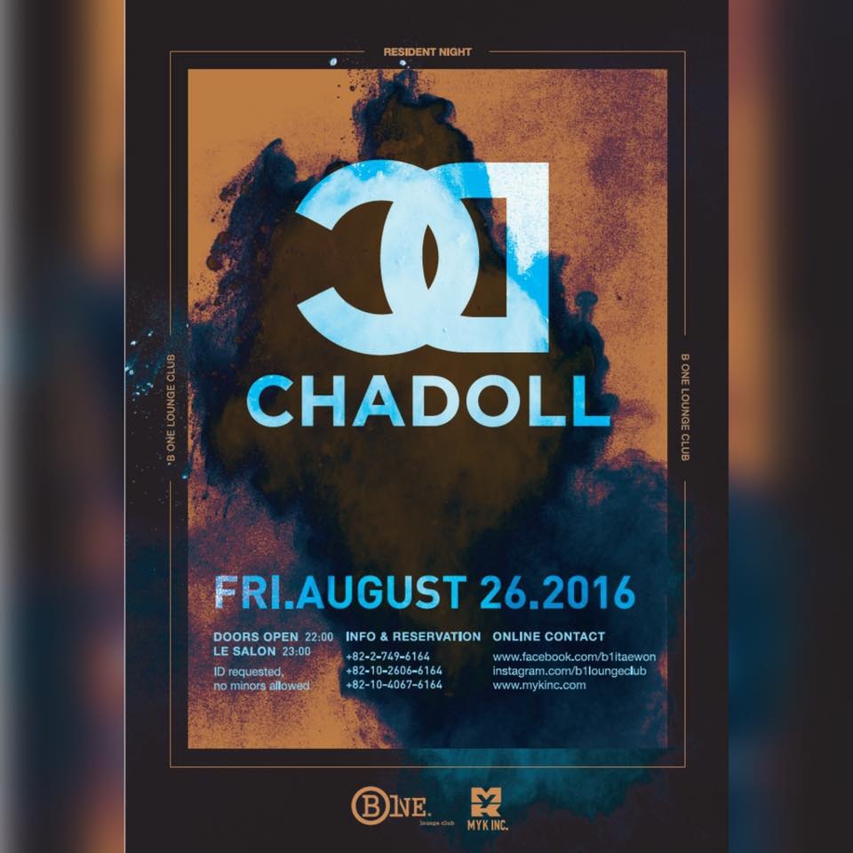 CHADOLL at B One Lounge Club