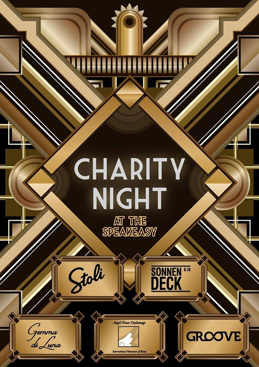 Charity Night at the Speakeasy