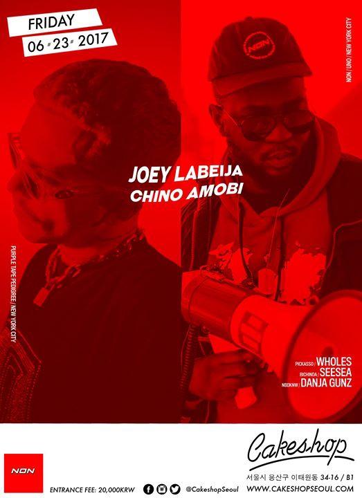 Chino Amobi & Joey LaBeija (Non/PTP/NYC) at Cakeshop