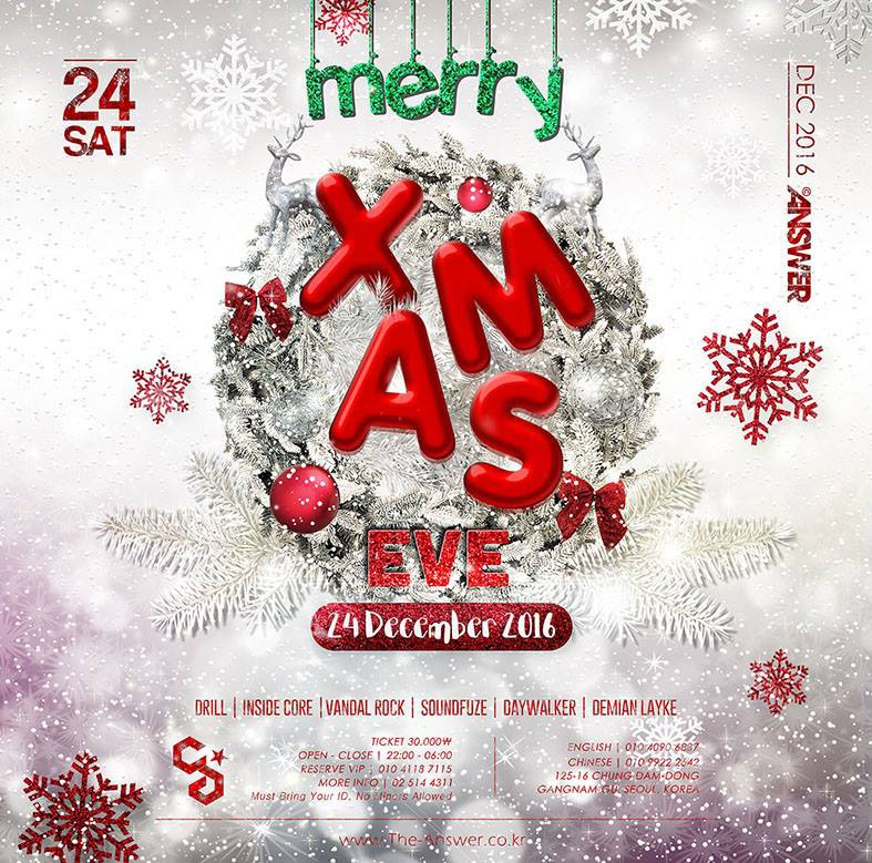 Christmas Eve at Club Answer