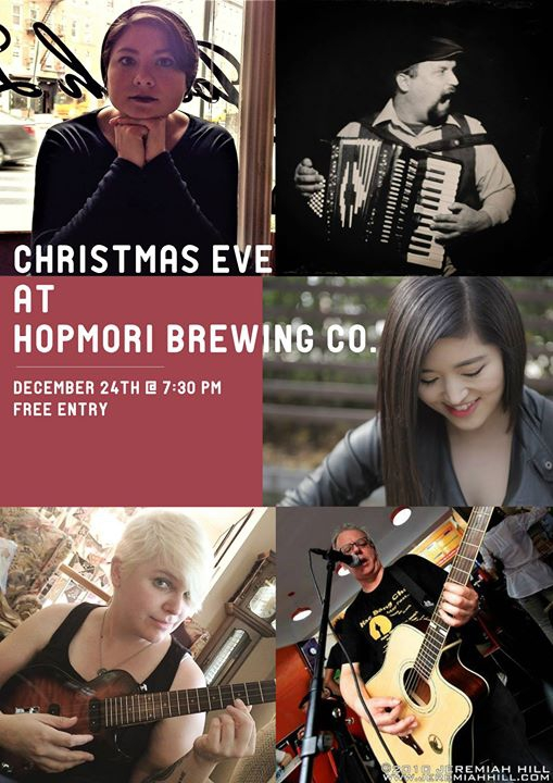 Christmas Eve at HopMori Brewing Co.!