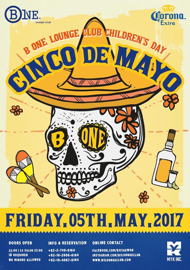 Cinco de Mayo at B One Lounge Itaewon