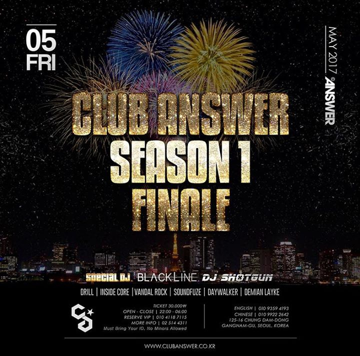 Club Answer Season 1 Finale party X DJ Shotgun Birthday party @ Club Answer