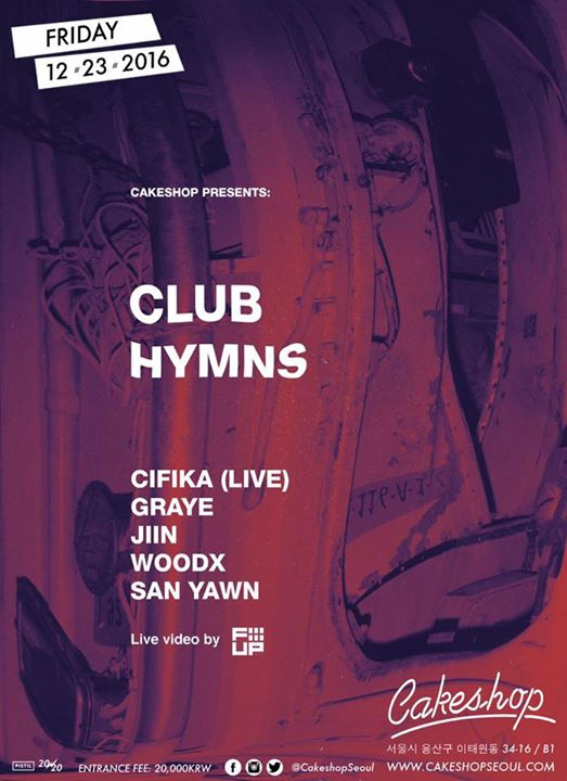 Club Hymns at Cakeshop