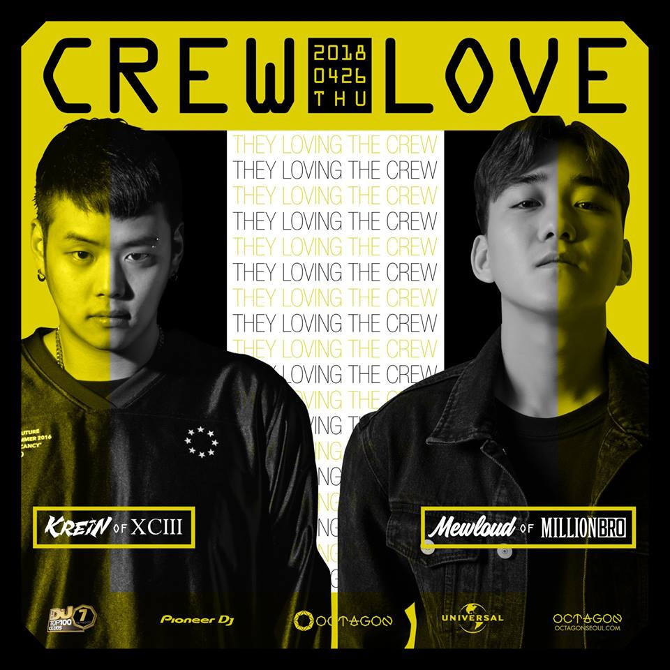 CREW LOVE : MILLION BRO VS XCIII