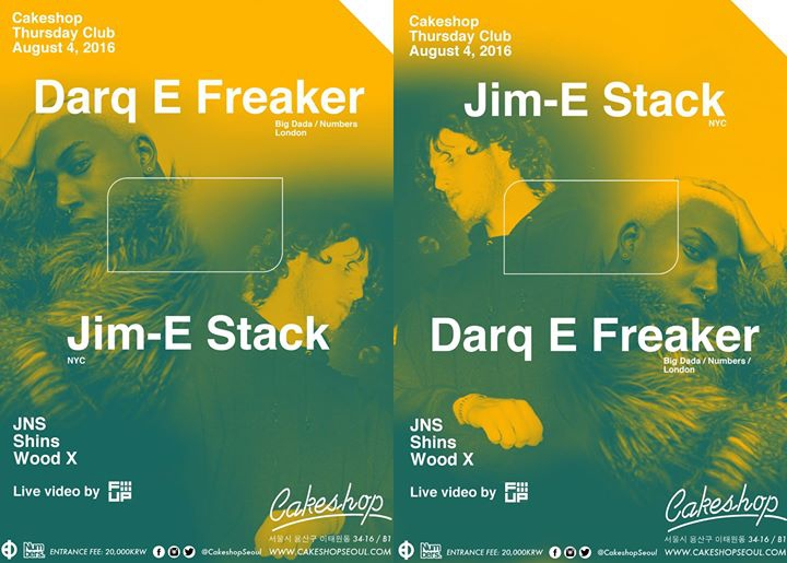 Darq E Freaker & Jim-E Stack (London/NYC)