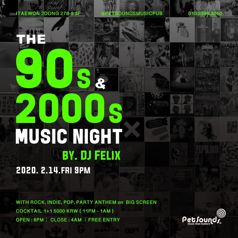 DJ Felix at Pet sounds rock bar