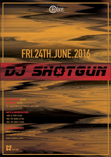 DJ Shotgun at B One Lounge Club!