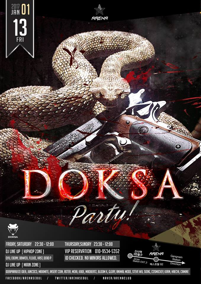 DOKSA PARTY at Club Arena