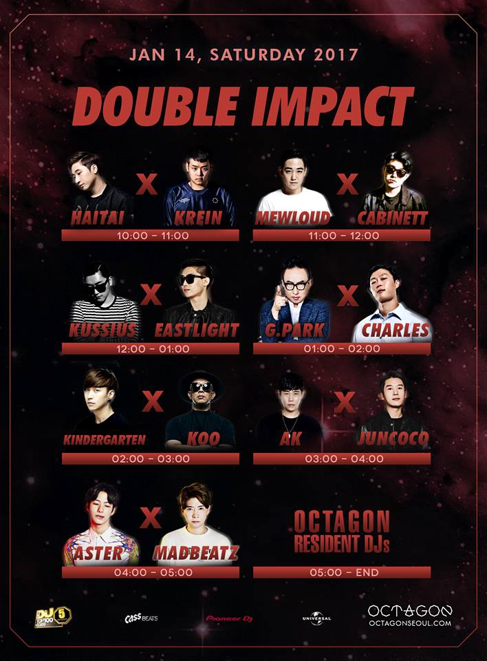 Double Impact at Club Octagon