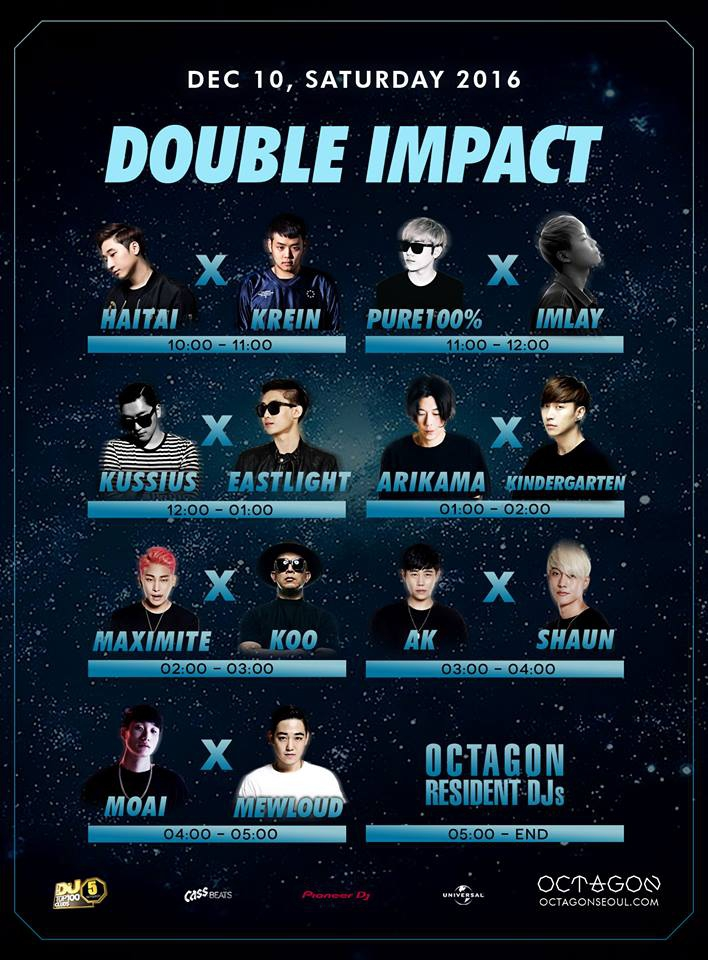 Double Impact @ Club Octagon