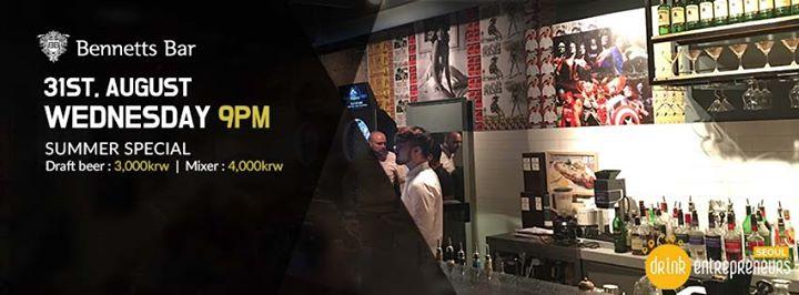 DrinkEntrepreneurs in Seoul #40 - Summer Special