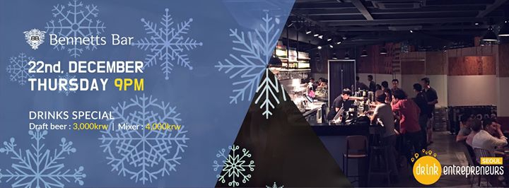 DrinkEntrepreneurs in Seoul #44 Christmas edition