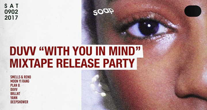 DUVV [With You In Mind] Release Party at Soap Seoul
