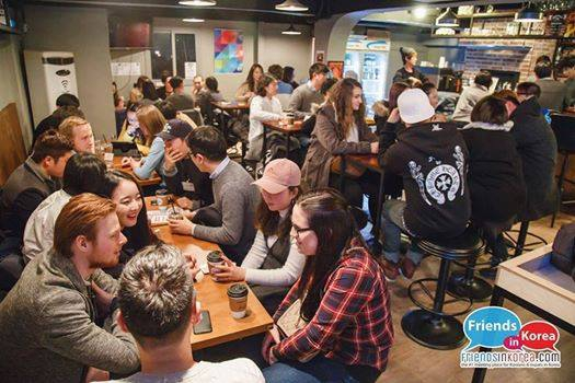 Every Friday: Language Exchange Cafe in Hongdae!